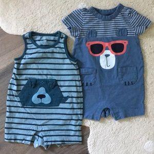 Baby Gap Summer Party Animals 6-12M Bundle